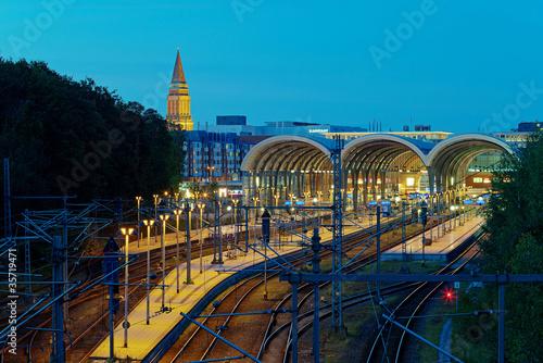 Bahnhof in Kiel