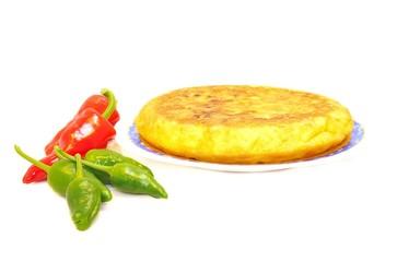 Tortilla de patata .