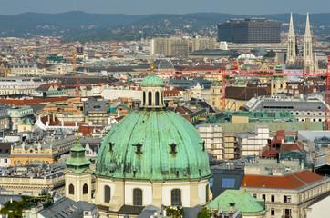 Une vue de Vienne