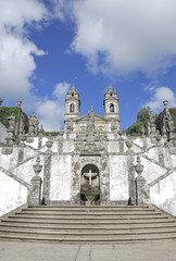 Bom Jesus do Monte Sanctuary in Braga (Portugal)
