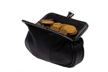 A purse of coins