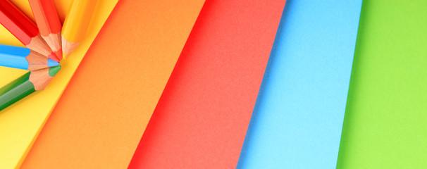 Stifte und Farbfächer