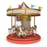 Man Carousel