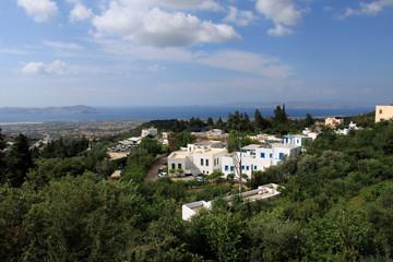 Typical Greek Village. Zia, Kos Island, Greece