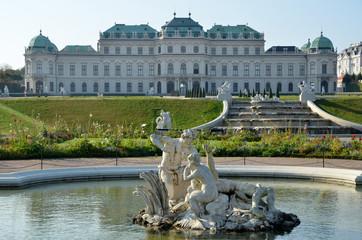 Au Palais du Belvédère à Vienne