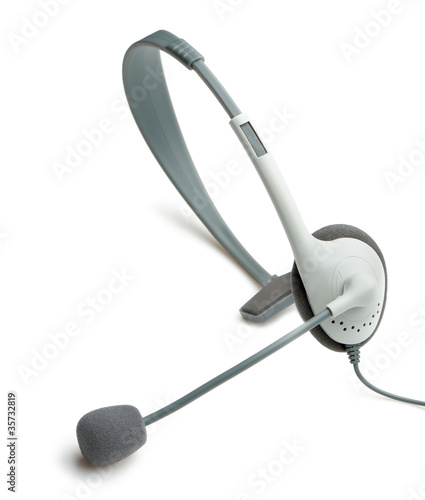 headphone with a microphone