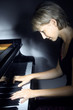 Piano music playing pianist musician.