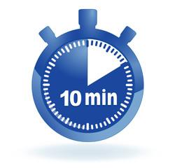 10 minutes sur chronomètre