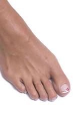 aerografo decorazione piede