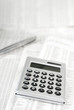 Taschenrechner und Börsenkurse