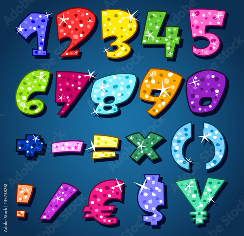 Sparkling numbers