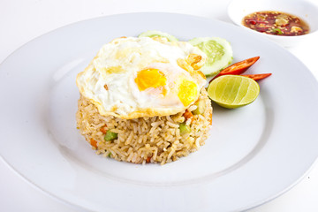 Fried Rice with Fried Egg1