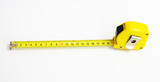 20 Meter - metering measuring tape, white Background