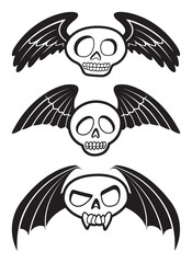 The Flying Skulls