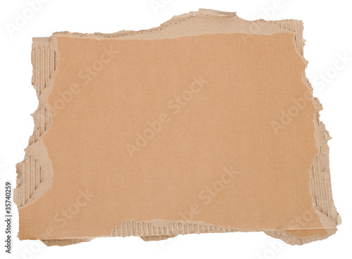 Torn Cardboard Background