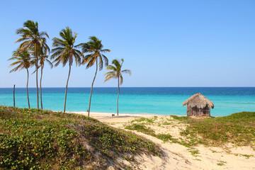 Cuba - Megano beach in Playas del Este, Havana province