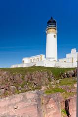Rua Reidh Lighthouse from below