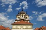 Orthodox church of Alba Iulia, Transylvania,Romania poster