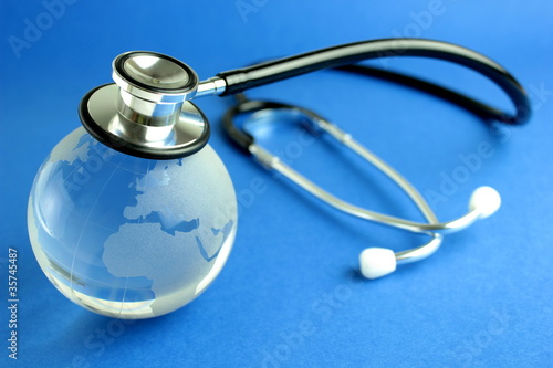 Stethoscope and world
