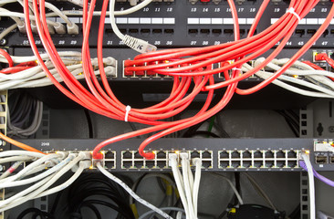 Tangled network equipment