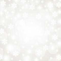 christmas snowflakes and stars illustration