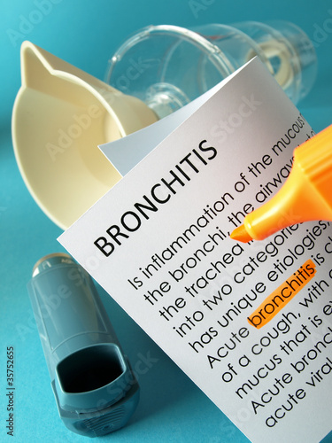 'Bronchitis' highlighted in orange