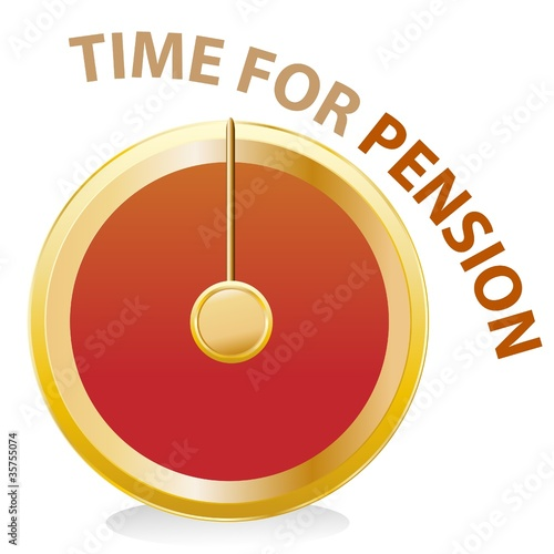 time for pension