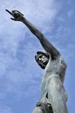 Statue of Genius of Navigation poster