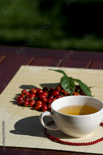 Tea with rose-hips