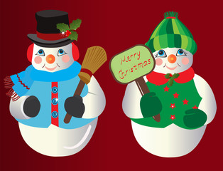 Snowman Christmas Ornaments