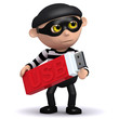 3d Burglar has stolen someones data on a USB drive