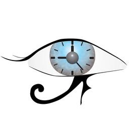 Eye of Providence on white background