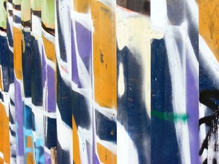 Underground graffiti texture