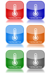 "Thermometer  ""6 buttons of different colors"""