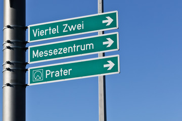 Direction in Vienna