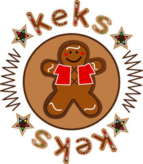 gingerbread doll keks