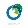 Logo letter O, green energy # Vector