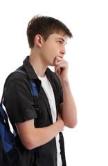 Thinking contemplative student