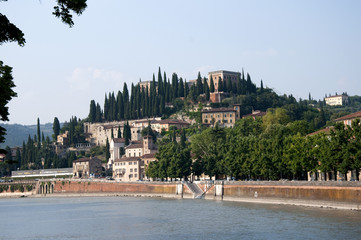 Verona a charming city in Northern Italy