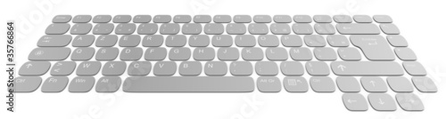 Clavier d'ordinateur 3d design