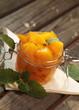 Obst im Einmachglas