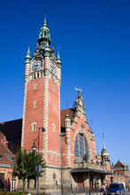 Main Railway Station in Gdansk