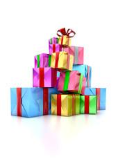 Montagne de cadeaux