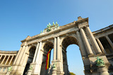Triumph Arch in Cinquantennaire Parc in Brussels