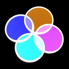 Farbige Filter