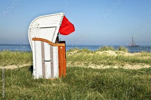 Foto op Canvas Noordzee Urlaub am Meer