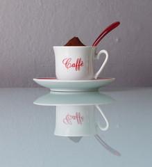 Caffè macinato in tazzina