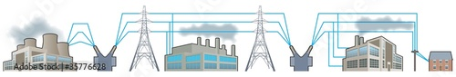 Electricity supplies, National Grid supply chain
