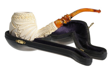 Tobacco pipe from meerschaum