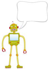 robot che parla